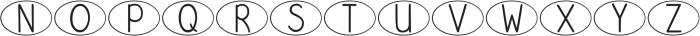 DJB Speak Up ttf (400) Font UPPERCASE