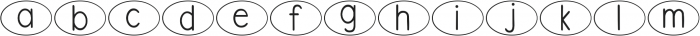 DJB Speak Up ttf (400) Font LOWERCASE