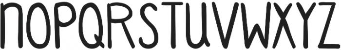 DJB Standardized Test 2 ttf (400) Font UPPERCASE