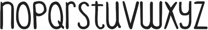 DJB Standardized Test 2 ttf (400) Font LOWERCASE