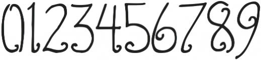 DJB Standardized Test Oval 2 ttf (400) Font OTHER CHARS