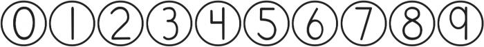DJB Standardized Test ttf (400) Font OTHER CHARS