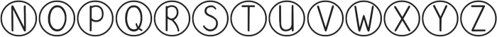 DJB Standardized Test ttf (400) Font UPPERCASE