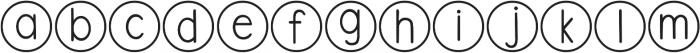 DJB Standardized Test ttf (400) Font LOWERCASE