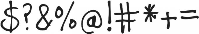 DJB TAGGED ttf (400) Font OTHER CHARS