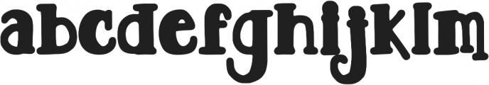 DJB TOOTSIE WOOTSIE BOLD ttf (700) Font LOWERCASE