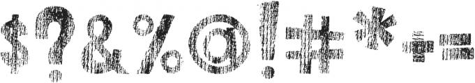 DJB This Font is Worn ttf (400) Font OTHER CHARS