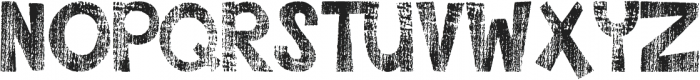 DJB This Font is Worn ttf (400) Font UPPERCASE