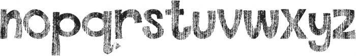 DJB This Font is Worn ttf (400) Font LOWERCASE