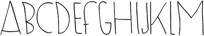 DJB To Be Continued ttf (400) Font LOWERCASE