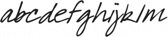 DJB What a Babe ttf (400) Font LOWERCASE