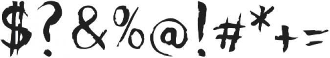 Djangart otf (400) Font OTHER CHARS