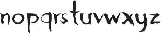 Djangart otf (400) Font LOWERCASE