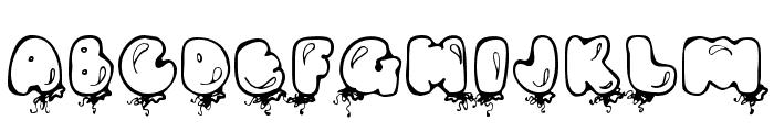 DJ Balloons Font UPPERCASE
