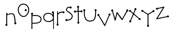 DJ Bumble Font LOWERCASE