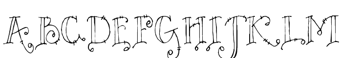 DJ Countrytime Font UPPERCASE