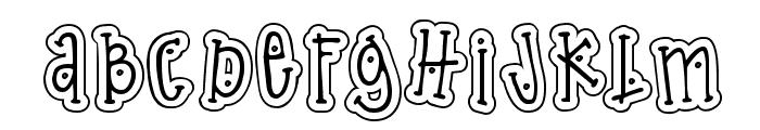 DJ Dingle Font UPPERCASE