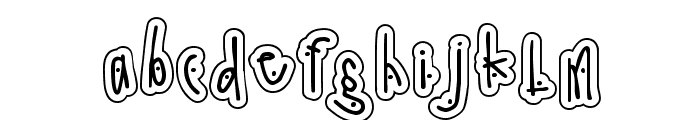 DJ Dingle Font LOWERCASE