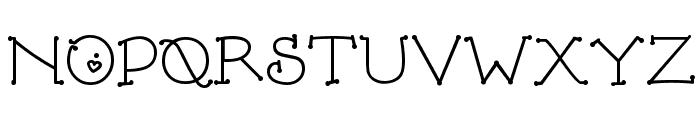 DJ FiddleSticks Font UPPERCASE