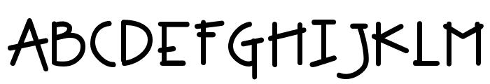 DJ Groovey Font UPPERCASE