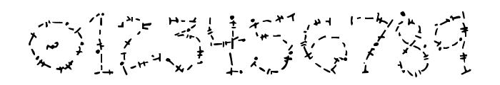 DJ Oldstitch Font OTHER CHARS