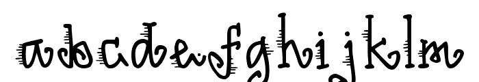 DJ Wind Font LOWERCASE