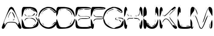 DJ 4Skin Font UPPERCASE