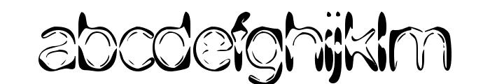 DJ 4Skin Font LOWERCASE