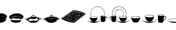 DJ Kitchen Font LOWERCASE