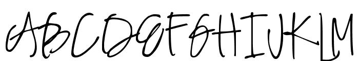 DJB Angel Baby Font UPPERCASE
