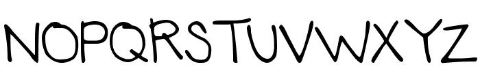 DJB Annalise the Brave Font UPPERCASE