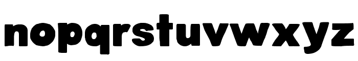 DJB BellyButton-Innie Bold Font LOWERCASE