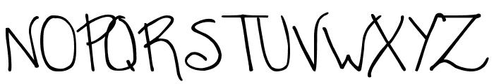 DJB CASSANDRA Font UPPERCASE