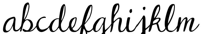 DJB Dear St. Nick Font LOWERCASE
