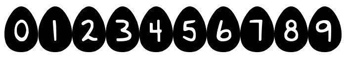 DJB Eggsellent Wobbly Font OTHER CHARS