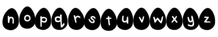 DJB Eggsellent Wobbly Font LOWERCASE