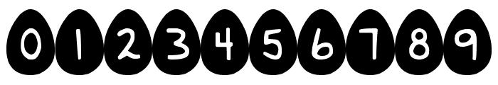 DJB Eggsellent Font OTHER CHARS