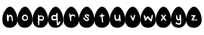 DJB Eggsellent Font LOWERCASE