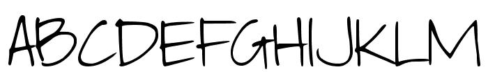 DJB Elliephont Font UPPERCASE