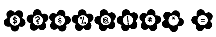 DJB Flower Power 2 Font OTHER CHARS