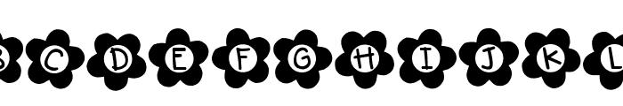 DJB Flower Power 2 Font UPPERCASE