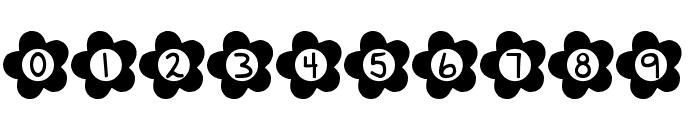 DJB Flower Power Font OTHER CHARS