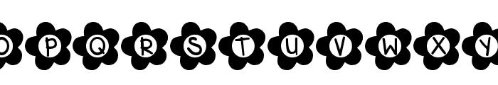 DJB Flower Power Font UPPERCASE