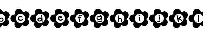 DJB Flower Power Font LOWERCASE