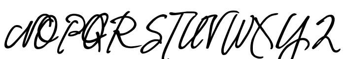 DJB Fresh Start Bold Font UPPERCASE