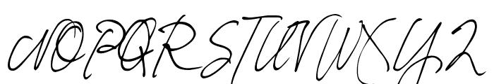 DJB Fresh Start Font UPPERCASE