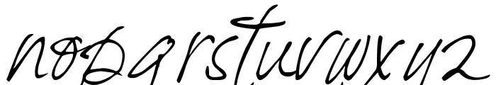 DJB Fresh Start Font LOWERCASE