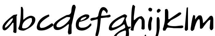 DJB HeatherG Font LOWERCASE