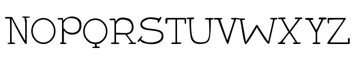 DJB Holly Serif Font UPPERCASE