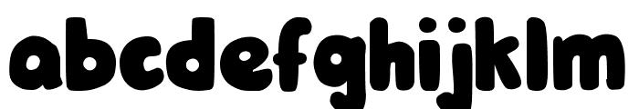 DJB Hunky Chunk Font LOWERCASE
